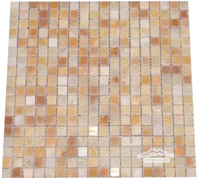 "Golden Classic Onyx 5/8"" x 5/8"" Mosaic"