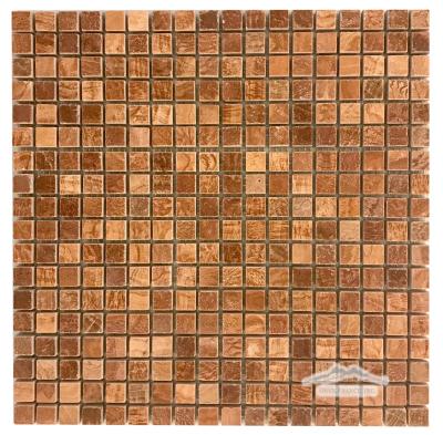 """Onyx Cafe Marble 5/8"""" x 5/8"""" Mosaic"""