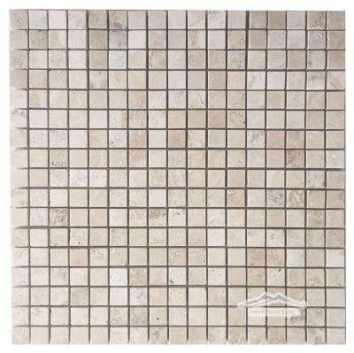 "Aztec Travertine 5/8"" x 5/8"" Mosaic"
