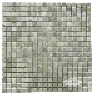 "Verde Laguna Marble 5/8"" x 5/8"" Mosaic Polished"