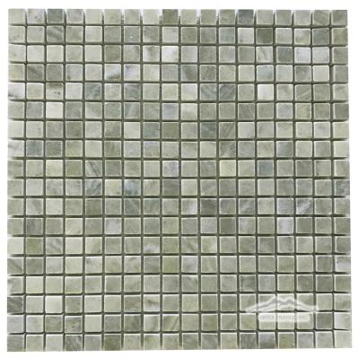 "Verde Laguna 5/8"" x 5/8"" Mosaic Polished"