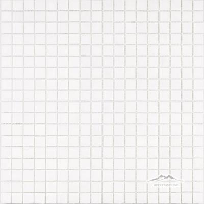 """White Thassos Marble 5/8"""" x 5/8"""" Mosaic"""