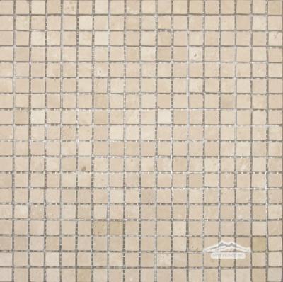 """DurangoTravertine 5/8"""" x 5/8"""" Mosaic Honed"""