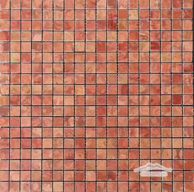 "Rosa Verona Marble 5/8"" x 5/8"" Mosaic Polished"