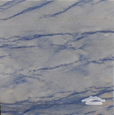 "Blue Macauba Quartzite 12"" x 12"" Tile Polished"