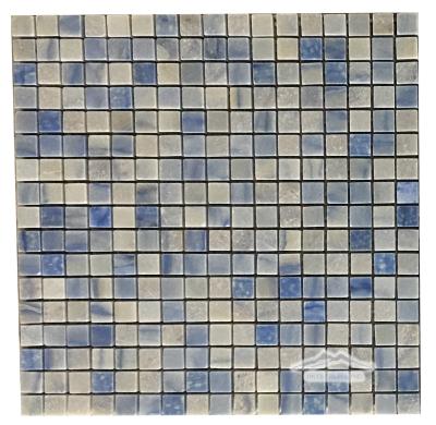 "Blue Macauba Quartzite 5/8"" x 5/8"" Mosaic"