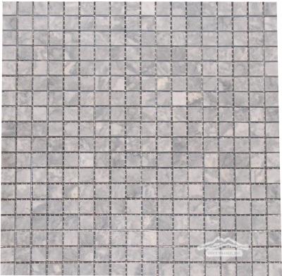 "Grey Mist Marble 5/8"" x 5/8"" Mosaic Polished"