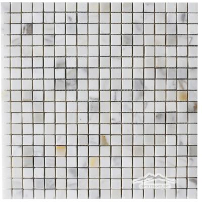 """Calacatta Gold Marble 5/8"""" x 5/8"""" Mosaic"""