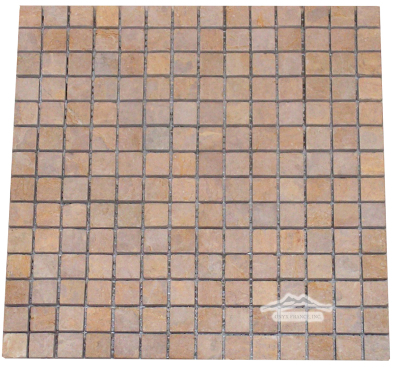 "Giallo Reale Marble 3/4"" x 3/4"" Mosaic"