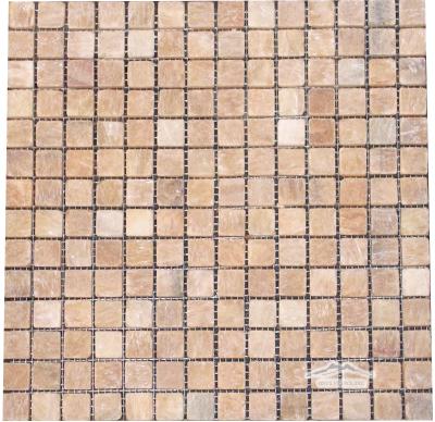 """Golden Honey Onyx 3/4"""" x 3/4"""" Mosaic"""