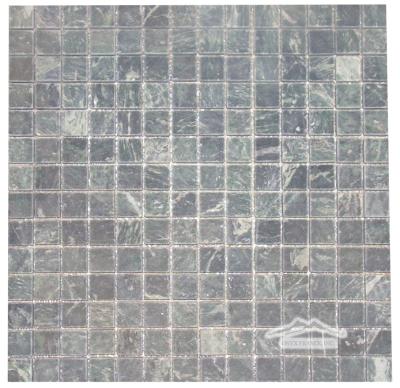 "Verde Gold Marble 3/4"" x 3/4"" Mosaic Tumbled"