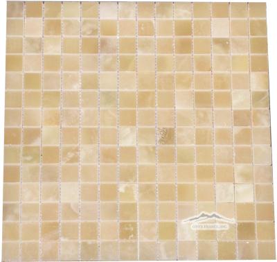 """White Persian Vanilla PREMIUM 3/4"""" x 3/4"""" Mosaic"""