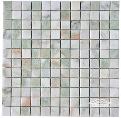 """Alba Chiaro Onyx 1"""" x 1"""" Mosaic Polished"""