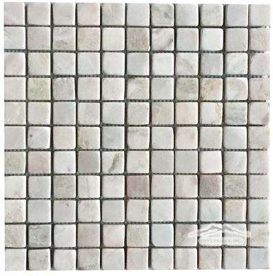 "Alba Chiaro Onyx 1"" x 1"" Mosaic Tumbled"