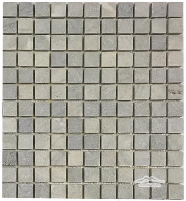 "Verde Laguna Marble 1"" x 1"" Mosaic Tumbled"
