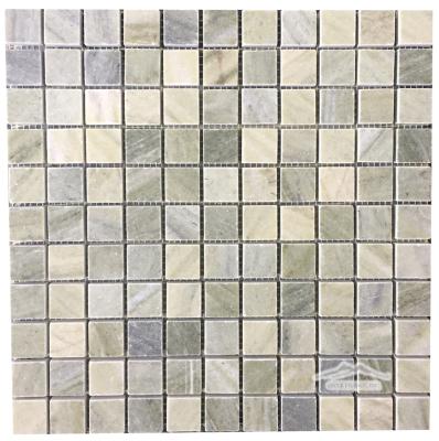 "Verde Laguna Marble 1"" x 1"" Mosaic Polished"