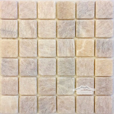 "Golden Honey Onyx 2"" x 2"" Mosaic Tumbled"
