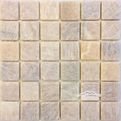 """Golden Honey Onyx 2"""" x 2"""" Mosaic Tumbled"""
