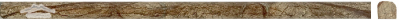 """Cafe Forest Marble Bullnose (Pencil): 5/8"""" x 12"""" x 3/4"""" Polished"""