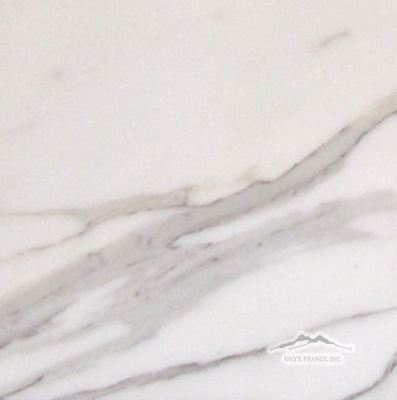 "Calacatta Gold Marble 12"" x 12"" Tile: Honed, Polished, & Soft Touch"