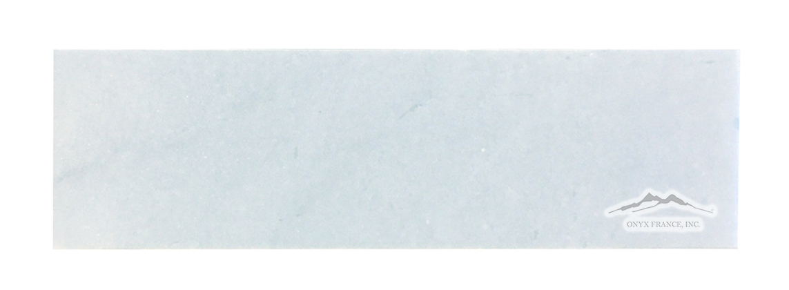 "Blue Bliss Marble 3"" x 12"" Tile Polished & Honed"