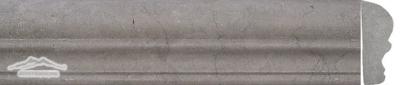 "Blue Lagoon Limestone Cornice Ogee 2-1/2"" x 12"" Molding Honed"