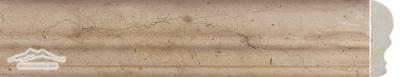 Gold Lagoon Limestone: Cornice Ogee: 1/2'' x 12'' Molding Honed