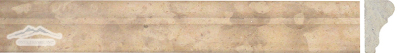 "Dore Royal Limestone France Ogee 1-3/4"" x 12"" Molding Honed"