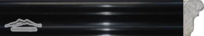 "Black Velvet France Ogee 1-3/4"" x 12"" Polished Molding"
