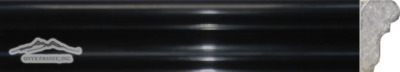 "Black Velvet France Ogee 1-3/4"" x 12"" Molding Polished"