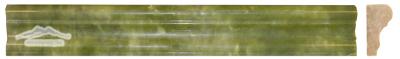 """Green Olivine France Ogee 1-3/4"""" x 12"""" Polished Molding"""