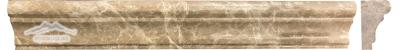 """Light Brown Emperador France Ogee 1-3/4"""" x 12"""" Polished Molding"""