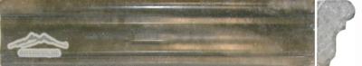 """Verde Laguna Marble 1 3/4"""" x 12'' France Ogee Honed"""