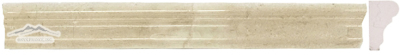 Cream Marfil France Ogee 1-3/4'' x 12'' Molding Polished