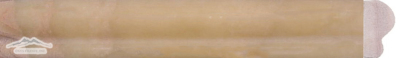 Rainbow Onyx 2'' x 12'' Dune Ogee Molding Polished
