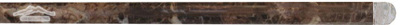 "Brown Emperador Bullnose (Pencil) 3/4"" x 12"" Molding Polished"