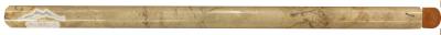 "Sahara Gold Marble Bullnose 5/8n"" x 12n"" Polished Molding"