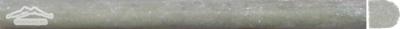 """Verde Laguna Marble Bullnose: 3/4"""" x 12"""" Molding Honed"""