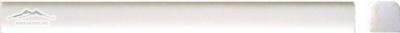 "White Elegant SELECT Bar Liner 3/4"" x 12"" Molding: Polished & Honed"