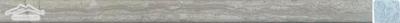 "Blue Stratta Limestone Square Liner 3/4"" x 12"" Honed Molding"
