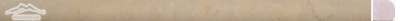 Jerusalem Gold Limestone Bullnose: 3/4'' x 12'' Honed Molding