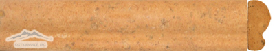 "Gold Pompeii Limestone Dune Ogee: 2"" x 12"" Molding Honed"