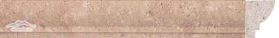 Sunstone (Orro Rosso) Limestone Type D Ogee : 1-12'' x 1-18'' x 12'' Honed Molding
