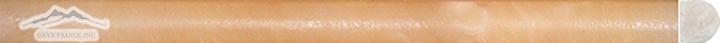 "Amber Onyx Bullnose 3/4"" x 12"" Antiqued Molding"