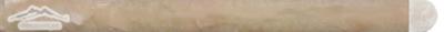Rainbow Onyx 3/4'' x 12'' Bullnose Molding Polished