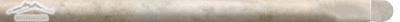 """Durango Travertine Bullnose: 3/4"""" x 12"""" Molding Honed"""