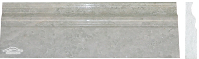 Ming Green Marble 4n'' x 12n'' Base Molding Polished