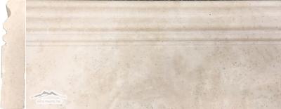 Durango Travertine 5'' x 12'' Base Molding Honed