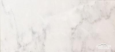 "White Statuary Calacatta Marble12"" x 24"" Tile: Honed & Polished"