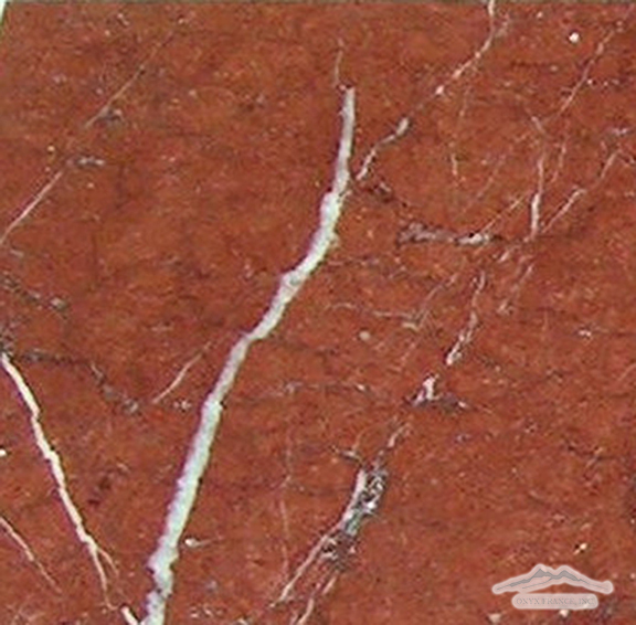 "Maroon Marble 12"" x 12"" Tile Polished"